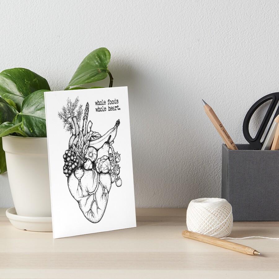 Whole Foods ganzes Herz Galeriedruck