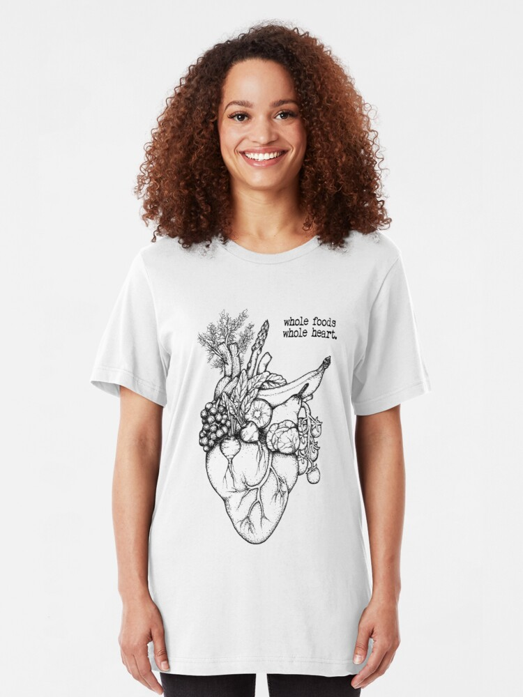 Alternate view of Whole Foods Whole Heart Slim Fit T-Shirt