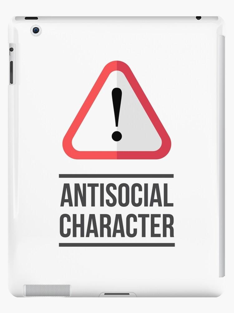 Antisozialer Charakter von Logomed Design Agency