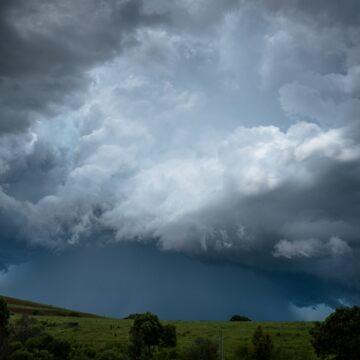 The Storm the Devastated Bellingen by colinsart