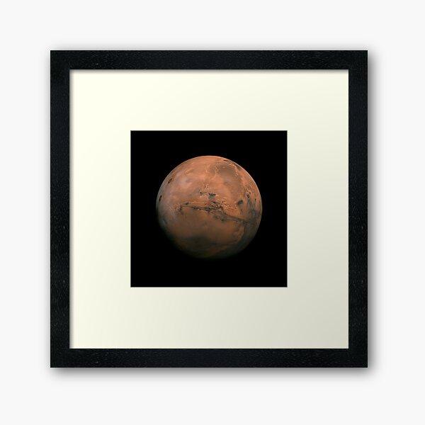Surface of Mars - Ultra High Resolution Framed Art Print