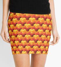Hot Triad Pattern Mini Skirt