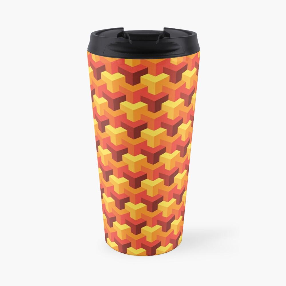 Hot Triad Pattern Travel Mug