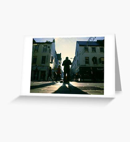 fiddler on marlboro street Greeting Card