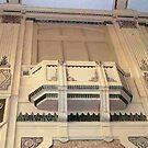 Northcote Town Hall, Melbourne, art deco balcony by BronReid