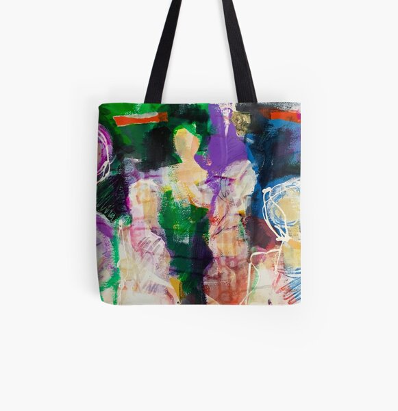 One Eye Series No. 3B All Over Print Tote Bag