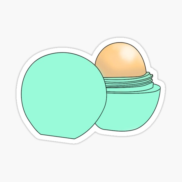 EOS Lipbalm Sticker