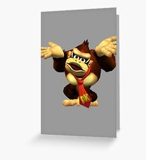 DK Melee Taunt Greeting Card