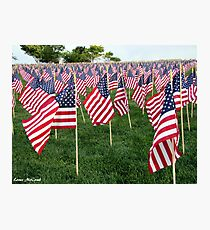 Honoring Those That Perished During 9/11 Photographic Print