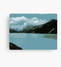 Mighty Mountains of Austria Canvas Print