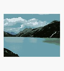Mighty Mountains of Austria Photographic Print