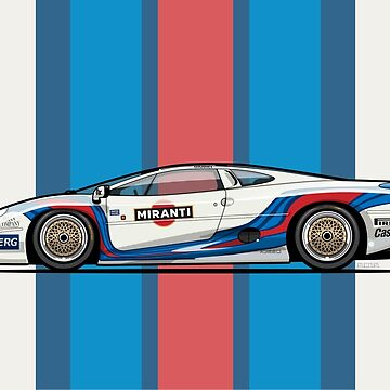 Martin Jag XJ220 Italian GT Championship by monkeycom