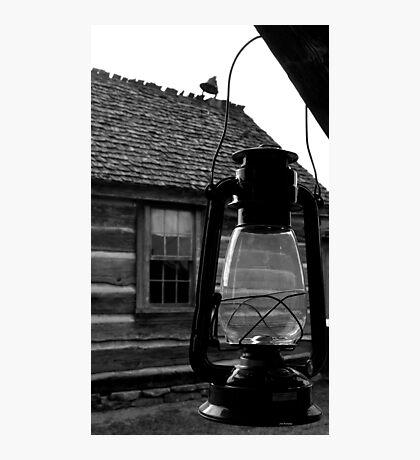 Porch Lantern Photographic Print