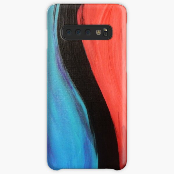 """""""The Balance of Naughty and Nice"""" - Abstract Art by JD Woods Samsung Galaxy Snap Case"""