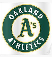 Oakland athletisch Poster