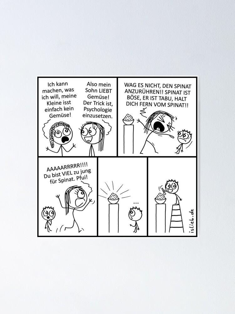 Alternative Ansicht von Gemuese islieb Poster