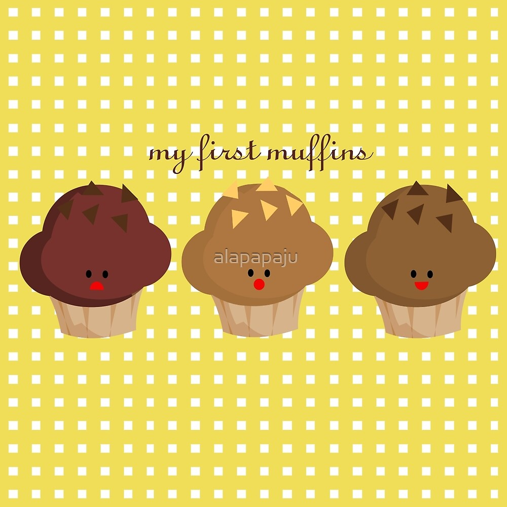my firts muffins by alapapaju