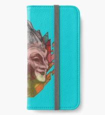 boris brejcha vintage iPhone Wallet/Case/Skin