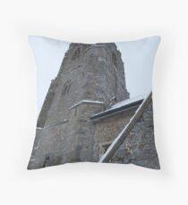Lapford Church Throw Pillow