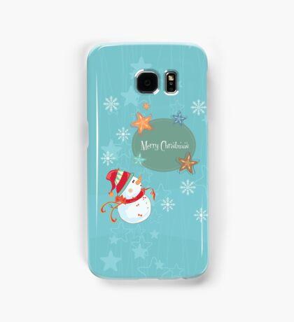 Merry Christmas Samsung Galaxy Case/Skin