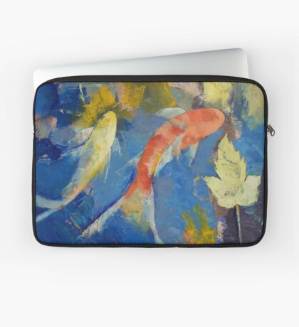Autumn Koi Garden Laptop Sleeve