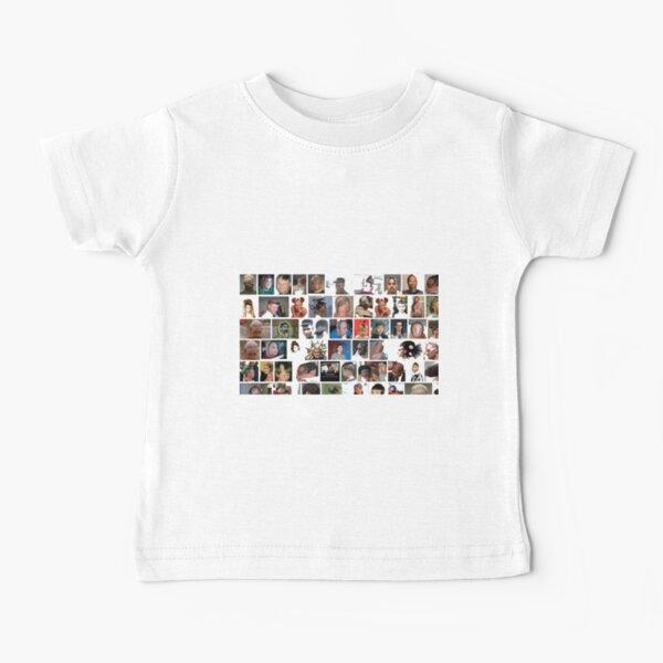 #people, #portrait, #girls, #boys, #men, #males, #face, #crowd Baby T-Shirt