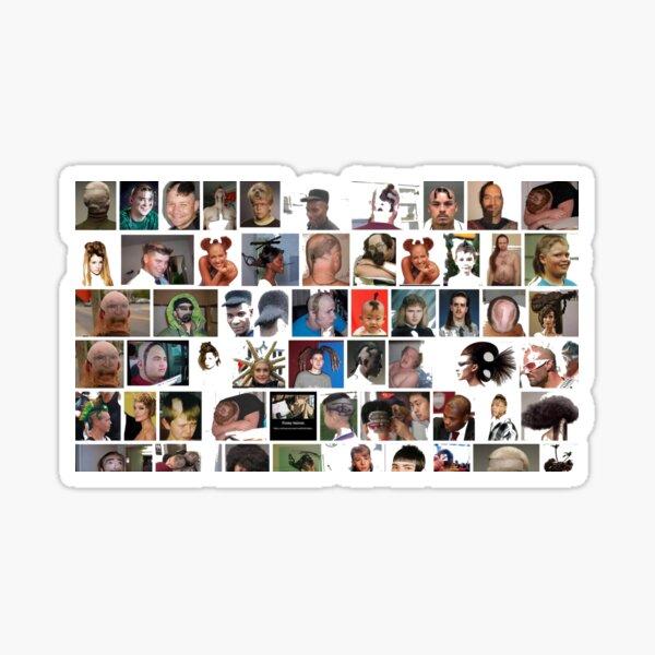 #people, #portrait, #girls, #boys, #men, #males, #face, #crowd Sticker