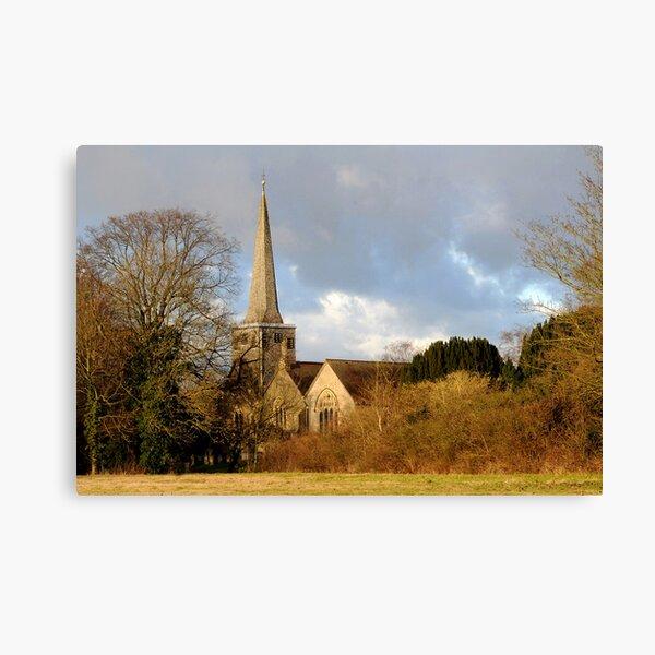 St. Bartholomew's Church Horley Canvas Print
