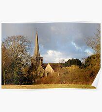 St. Bartholomew's Church Horley Poster