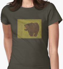 Storybook Bear Women's Fitted T-Shirt
