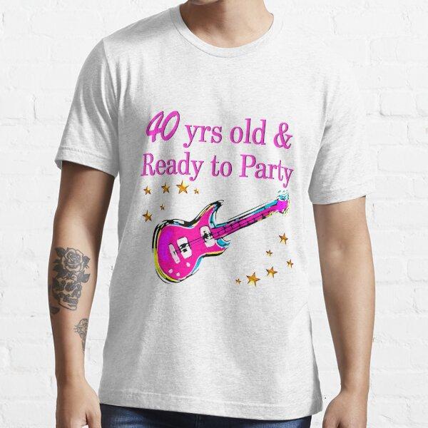 40 YR ANTIGUA ESTRELLA DE ROCK Camiseta esencial