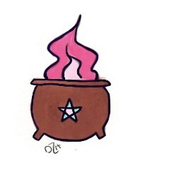 Witchy Cauldron by theirgrace