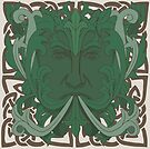 The Green Man by Aakheperure