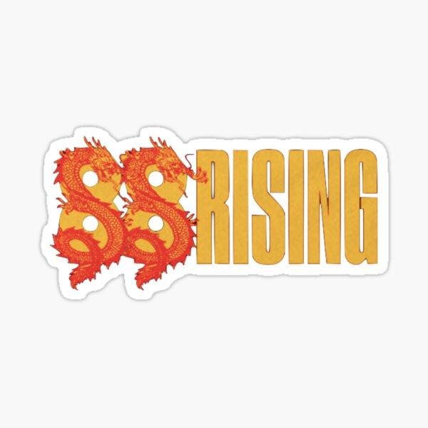 88 rising  Sticker