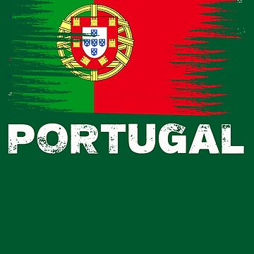 Portugal - Portuguese Flag Art | Sports Soccer Football by melsens