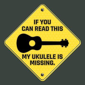 My Ukulele is Missing! by Kowulz