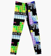 ULTIMATE ELEMENTAL PI 2015 periodic table Leggings
