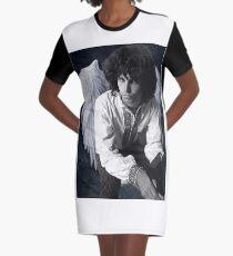 Jim Morrison Graphic T-Shirt Dress