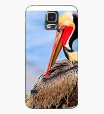 Brown Pelican Case/Skin for Samsung Galaxy