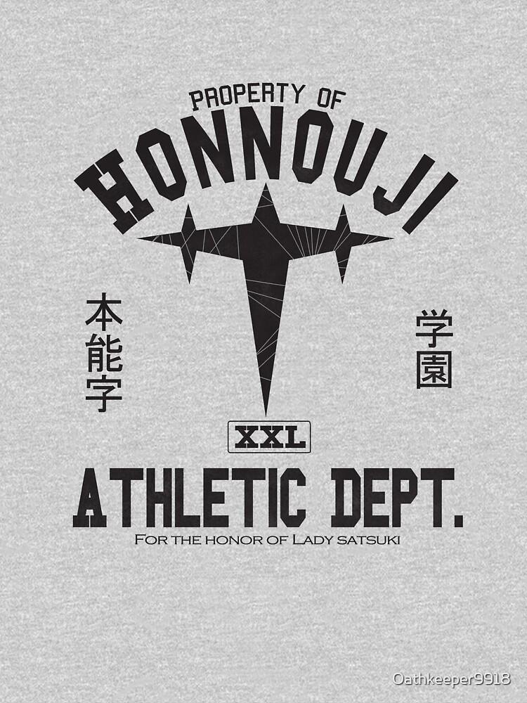 Honnouji Athletics (Black) by Oathkeeper9918