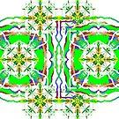 Mirrorart Siamese Squares by KazM