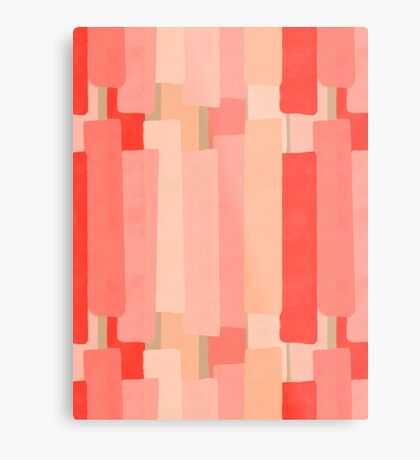 Like In Coral #redbubble #abstractart Metal Print