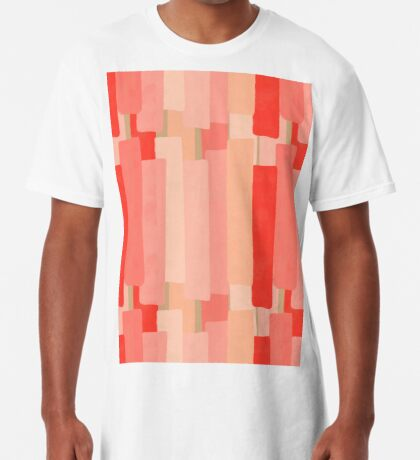 Like In Coral #redbubble #abstractart Long T-Shirt