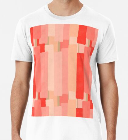 Like In Coral #redbubble #abstractart Premium T-Shirt