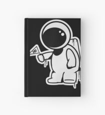Lonely Astronaut Hardcover Journal