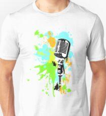 Old Skool Microphone Unisex T-Shirt