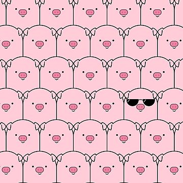 Ese cerdo fresco de cartoonbeing