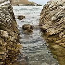 Rough and Rocky Sea Channel by Belinda Osgood