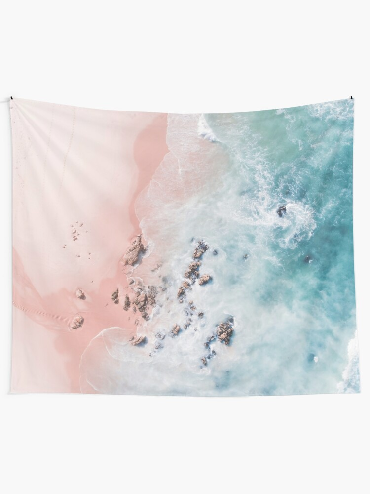 Alternate view of sea bliss Tapestry
