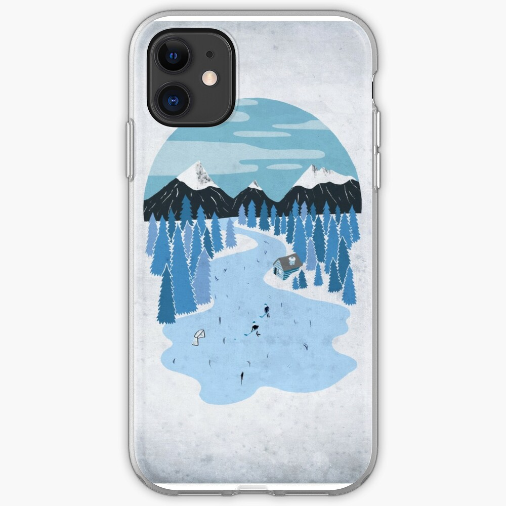 Pond Hockey iPhone Case & Cover